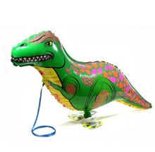 Hot 5pcs/lot Dinosaur balloon walking balloon animals inflatable air ballon for dinosaur party supplies 90X40CM kids classic toy