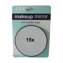 15X Mirror Make Up Magnifier Cosmetic Magnifying Face Care Bathroom Compact Mirror for Makeup #MF015 10x/lot