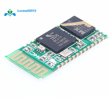 Free Shipping HC-05 HC05 Bluetooth Wireless RF Transceiver 30ft CSR2.0 2.4G Adapter Module Serial RS232 TTL to UART for Arduino(China)