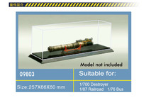Trumpeter 100% original 09803 model display case display box 257mmX66mmX60mm transparent display box for scale model