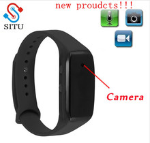 SITU Easy Carry Bracelet Camera HD 1080P Life Video Recorder Wristband Mini Camcorders Support Micro SD Max 32GB Watch Camera(China)