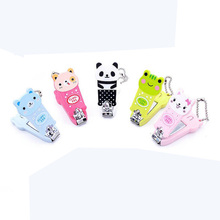 Baby Cartoon Nail Clippers Newborn Children's Nail Scissors Anti Pinch Meat Safety Scissors Protable Baby Nail Care Accessories