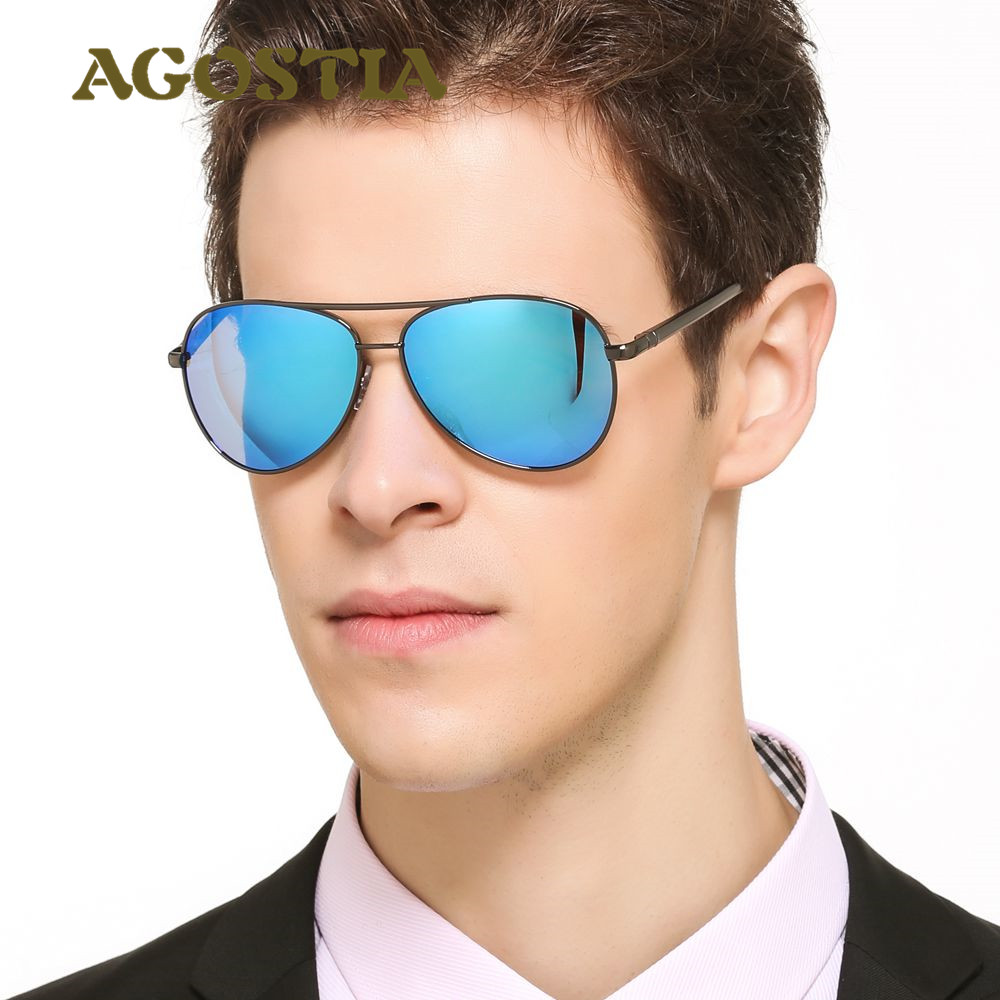 Agostia Aluminum Magnesium Polarized Sunglasses Men Women Classic Ray Style Aviation Fashion Eyewear Mirror Driving Sun Glasses<br><br>Aliexpress