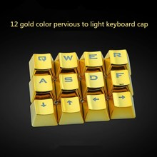 DIY Gamer gaming keyboard caps 12 standard key 12 key combination mechanical keyboard keycap For Logitech Razer  Steelseries