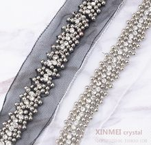 90cm gembling rhinestone sticker sheets luxurious phone case decor Self  Adhesive Scrapbooking Sticker shoes decoration( 585726df4b1b