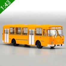 High Simulation 1:43 Original Russian 677M Alloy Bus Model Diecast Metal Car Model For Kids Toys Gifts Collection Free shipping(China)