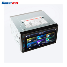 "6.95"" HD Capacitive Touch Screen Car Stereo DVD Player Bluetooth USB/SD/FM/AM/CD/DVD/MP3/MP4 2 Din Car Player(China)"