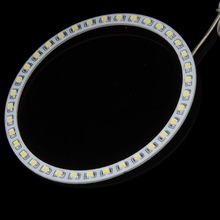 1PCS x White blue red green yellow 160mm 3528 48 SMD Car Led Angel Eyes Halo Ring Light Car Light