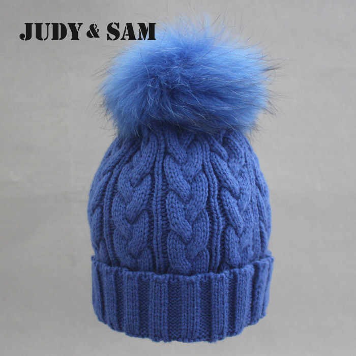 Newly Stylish Multi Colors Hat in Winter for Women Warm Apparel Accessories Skullies Beanies with 100% Real Fur Pom PomsОдежда и ак�е��уары<br><br><br>Aliexpress