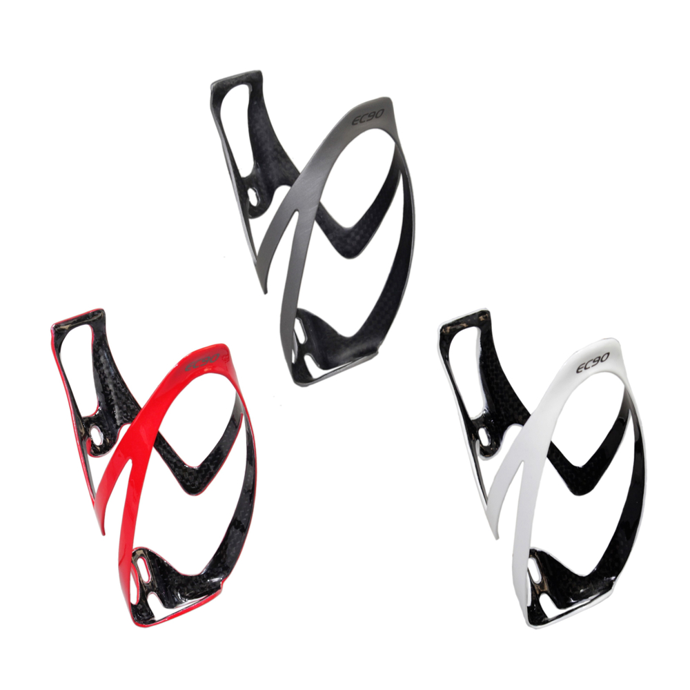 Glossy Carbon Bottle Cage T800 Full Carbon Fiber Bicycle Water Bottle Holder 28g