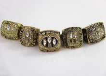 US size 8 to 14! 5pcs/set 1981 1984 1988 1989 1994 San Francisco 49ers Super Bowl world championship rings replica drop shipping(China)