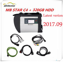 Super MB Star C4 2017 SD connect with mb star c4 cable and star c4 2017.09 newest HDD diagnosis for Mercedes Benz