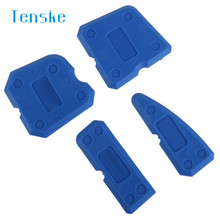 TENSKE Squeegees New 4 pcs Plastic Scraper Recommended For Home Maintenance U70504 DROP SHIP