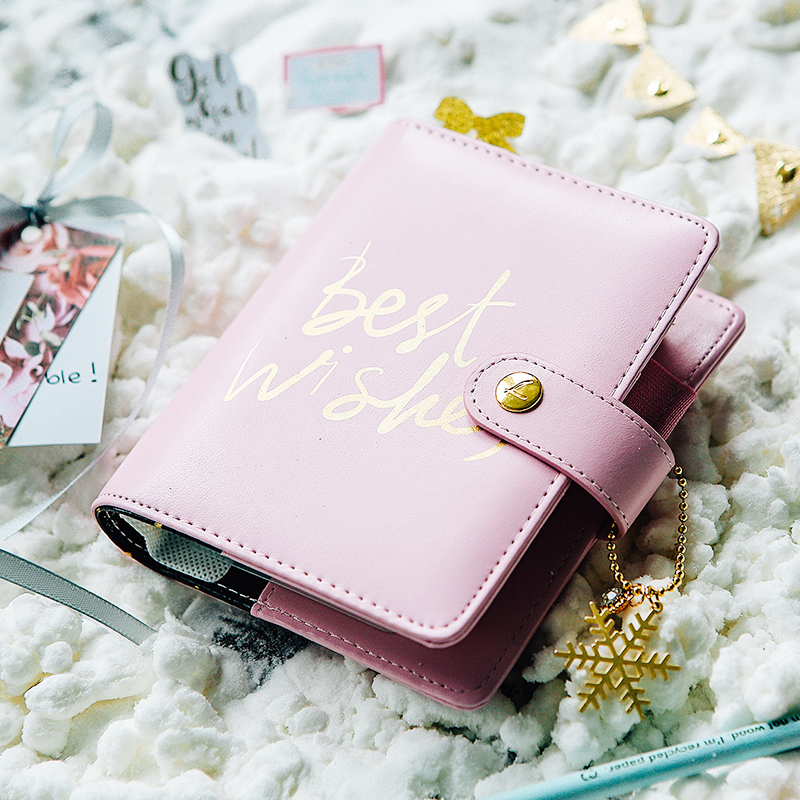 Instock 2017 Dokibook Winter Series Fireworks Best Wishes A5 A6 A7 Loose Leaf Planner Diary Notebook Sent Out in 1th Dec<br>