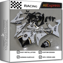 Plastic ABS Fairings For Yamaha R1 04 05 06 YZF 2004 2005 2006 Injection Full Motorcycle Fairing Kit Lucky Strike Design