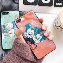 Buy Cartoon Mickey minnie Case iphone X 7 7Plus Bling glitter mirror soft silicon Case iphone 6 6s 6plus 8 8Plus for $3.47 in AliExpress store