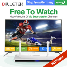 Dalletektv Leadcool Android IPTV Box Arabic French 1300+ Europe QHDTV IPTV Subscription 1 Year Italia Turkish Germany IPTV Box