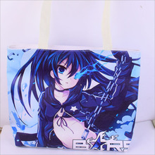 3D Shoulder Bags PU Bag Green shopping bags Cute Anime Black Rock Shooter/Date A Live/Fate stay night Sling Shoulder Bags