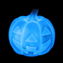 Color Changing Mood Lamp LED Pumpkin Night Light Party Christmas Decoration Light NG4S(China)