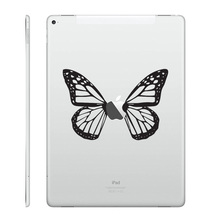 "Butterfly Art Vinyl Laptop Decal for Apple iPad Air 9.7"" / mini 7.9"" / Pro 12.9"" Tablet PC Sticker Notebook Partial Skin Sticker"