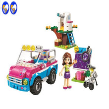A Toy A Dream Friends 10555 Olivias Expeditions Auto Car Toys DIY Building Brick Toys Girls Gift Compatible Lepin 41116