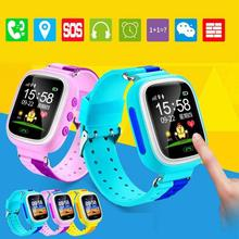 2017 New Q10 2G Network Smart Watch with Touch Screen  kid child Wristwatch Monitor Tracker Alarm Pedometer Watch Children Gifts