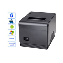 High quality 80mm auto cutter USB+bluetooth Thermal receipt printer Pos Printer for Hotel/Kitchen/Restaurant/Retail(China)