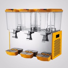 54L JUICE BEVERAGE DISPENSER COLD DRINK 14.25 GALLON REFRIGERATED HIGH LEVEL(China)