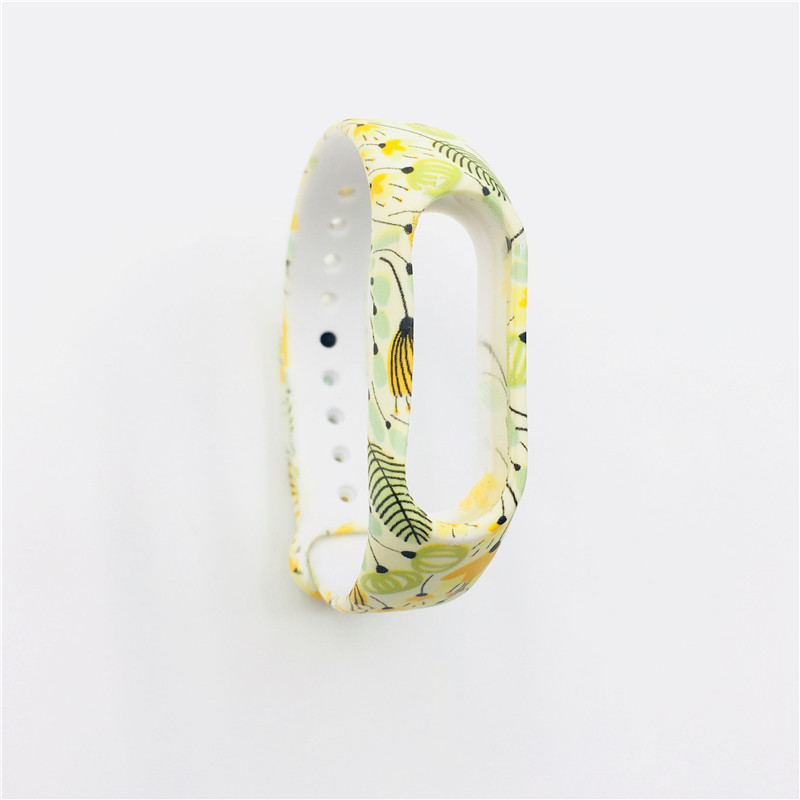 Xiaomi Mi Band 2 Bracelet Strap Miband 2 Colorful Strap Wristband Replacement Smart Band Accessories For Mi Band 2 Silicone band