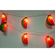 3m watermelon Led String Lights, Gold Pineapple, Tropic Wedding Idea, Happy Birthday Led Lights, Hawaii Trend Led Lights, 20 led