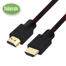 Shuliancable High Speed HDMI Cable With Ethernet Supports 1080p 3D and Audio Return Channel 1m 2m 3m 5m 7.5m 10m 15m 20m 25m(China)