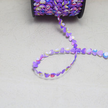 10 yards/lot 8mm width sweet heart love ribbon wedding decoration packaging  accessories