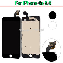 5PCS None Spot OEM Quality for iPhone 6s plus LCD Full Assembly with Screen Replacement Pantalla with Front camera small parts