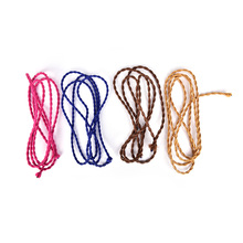 2M Twisted Wire Twisted Cable Fabric Wire DIY pendant lamp wire Retro Braided Electrical Wire vintage lamp cord Colorful(China)