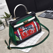 Europe Brand Fashion Woman Crossbody Bag Promotional Ladies Totes luxury PU Leather Handbag Shoulder Bag cartoon Women Bag