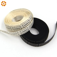 10Yard/Lot 13MM Beige And Black Printed Handmade Design Ribbon For Wedding DIY Crafts Gift Packing Belt & Sewing Accessories
