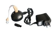 Rechargeable hearing aid BTE behind the ear aids no needs to keep buying replacement batteries S-108