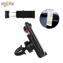 KISSCASE Auto Car Air Vent Phone Holder Universal Stand 360 Degree GPS Navigation Kickstand Mount For iPhone Samsung Accessories