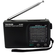 Tecsun R-909 Radio FM/AM/SW World Band Receiver FM Portable Radio DX / LOCAL Sensitivity Y4140A