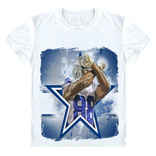 Dez Bryant T Shirt Dallas 88 Star T-shirt Summer Men women cool 3d T shirt Fashion Funs Summer brand tee funny casual tshirt(China)