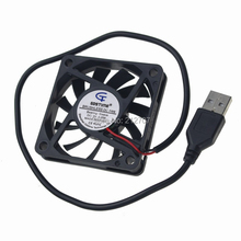 2 Pieces/lot Gdstime Brushless USB DC Cooler Fan 5V 60mm 60x60x10mm 6010 6cm For Computer PC CPU Case Cooling(China)