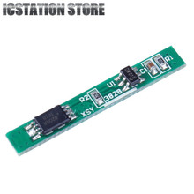 2pcs 1S 3.7V 2.5A Li-ion BMS PCM Battery Charging Protection Board PCM for 18650 Lithium ion li Battery Protect Module