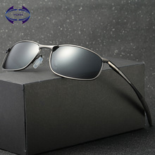 VCKA Polarized Sunglasses Men Brand Designer Rectangle Rectangle Sunglass Mens Driving Sun Glasses oculos de sol UV400 Eyewear