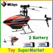 With 2 Battery WLtoys V922 RC Remote Control Helicopter 6CH 3D 6-Axis Gyro Single Blade 2.4GHz Radio 2014 New Electronic Toys