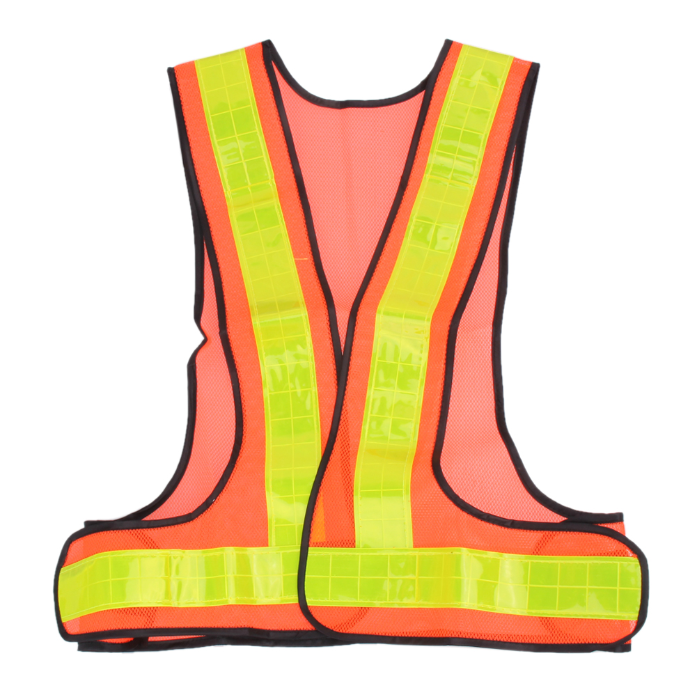 Universal Unisex Adjustable Belt Outdoor Safety High Visibility Reflective Vest Gear Stripes Running Night Riding Cycling