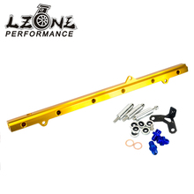LZONE RACING - NEW SARD STYLE FUEL RIAL FOR TOYOTA SUPRA ARISTO 2JZ TURBO JZA80 UPGRADE 92-02 RACING FUEL RAIL KIT JR5433G