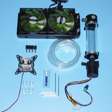 For Intel AMD 1150/1151/1155 Platform Computer CPU mute water cooling cooled LED radiator water tank water pump heat sink Kits