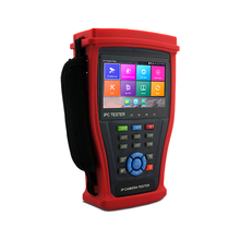 "4.3"" IPS Touch Screen CCTV Tester Monitor IP Camera Tester HDMI output POE WiFi H.265/H.264, 4K Camera Tester pro IPC-4300Plus(China)"