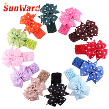 Girl's flower hair bands Delicate best selling hair wears drop shipping childrens head bands cintas para el pelo W25