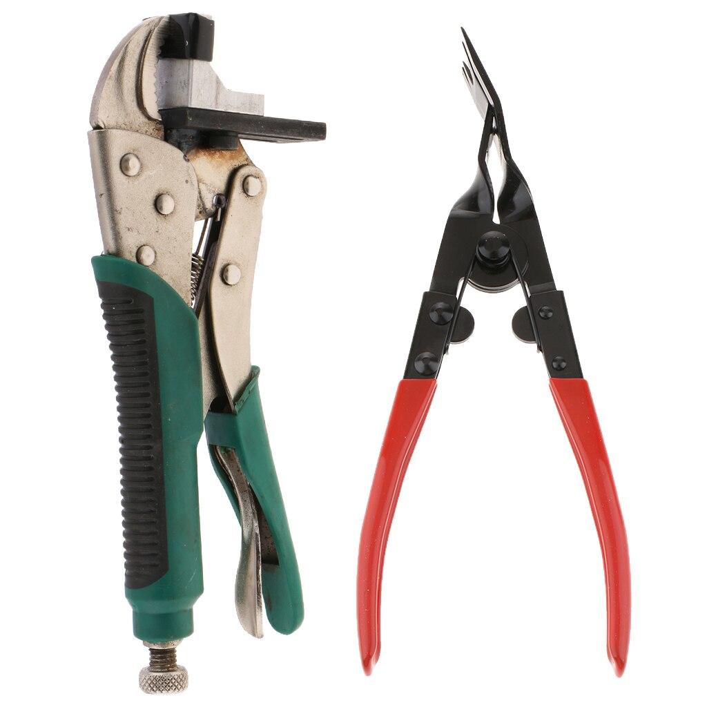 Utility Car Pliers Fastener Clips Puller Auto Tool Push Retainer Rivet Trim Clip